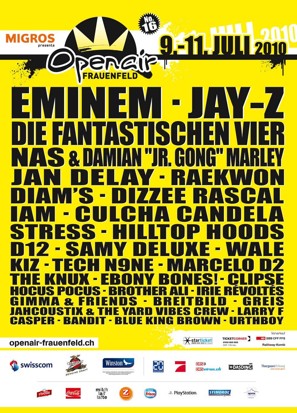 Dates festival frauenfeld